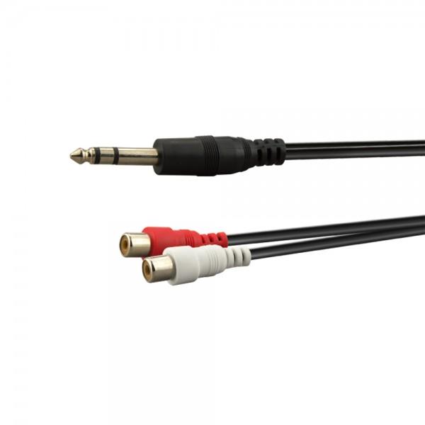 Stereo-Adapterkabel 0,2m