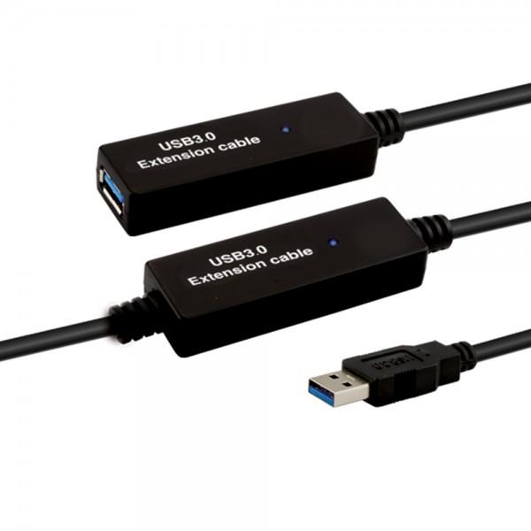 USB3.0 Verstärker AA 10,0m