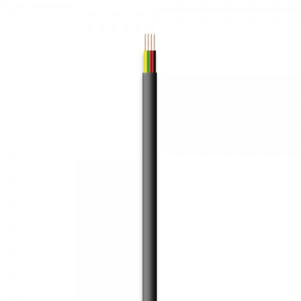 Telefon-Flachleitung, 4adrig, 50m