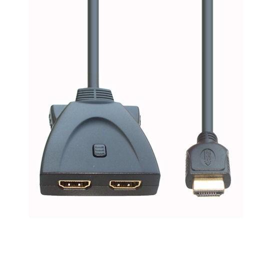 """HDMI Umschalter """"2 auf 1"""" 0,3m"""