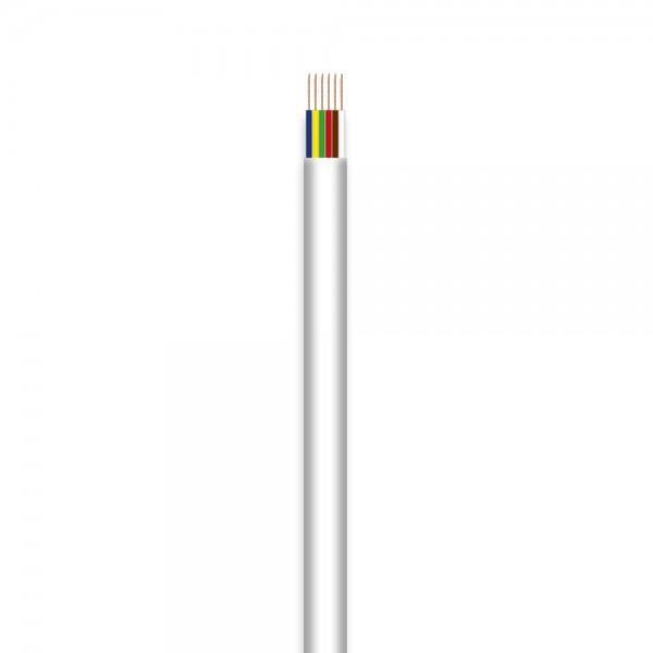 Telefon-Flachleitung, 6adrig, 100m