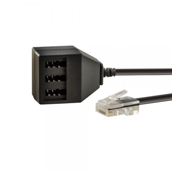 Western/TAE-Adapter 0,2m lose