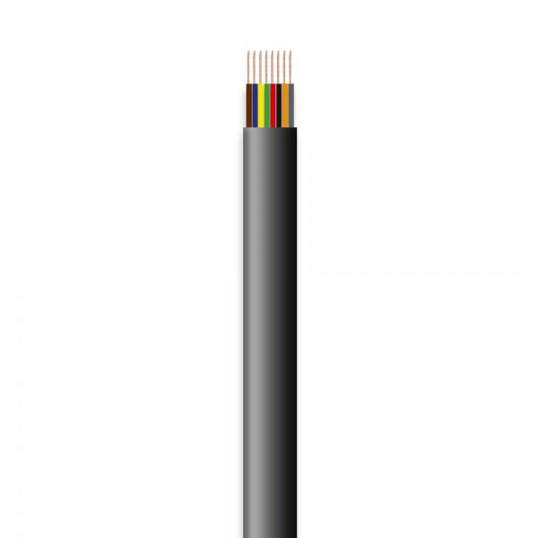 Telefon-Flachleitung, 8adrig, 100m