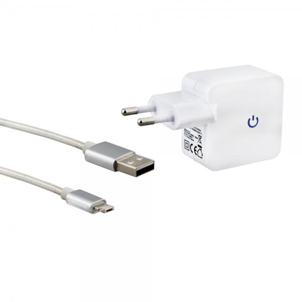 Micro-USB Lightning Kombiset