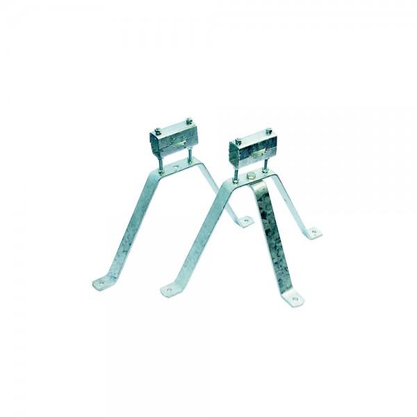 Stahl-Wandhalter-Set