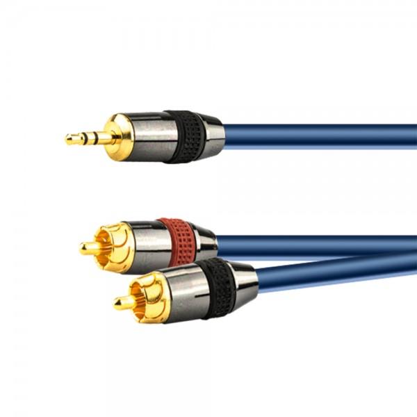 Stereo-Adapterkabel 1,5m