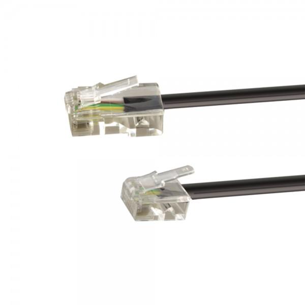 ISDN-Anschlusskabel 3,0m lose