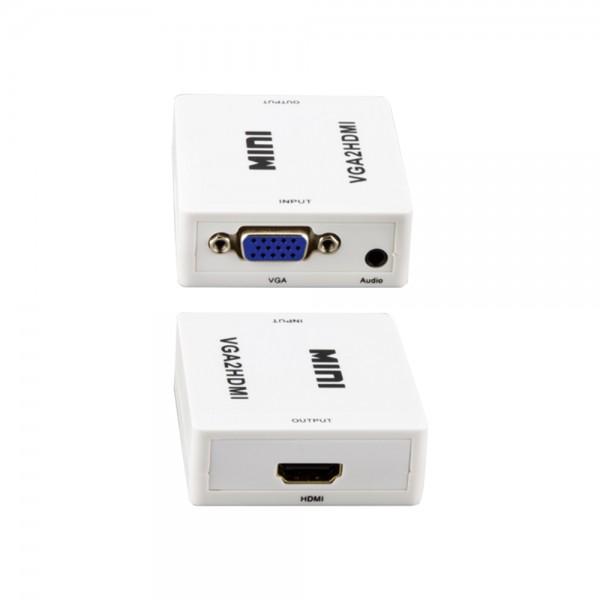 VGA und Audio zu HDMI Wandler