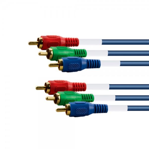 RGB/YUV-Anschlusskabel 5,0m lose
