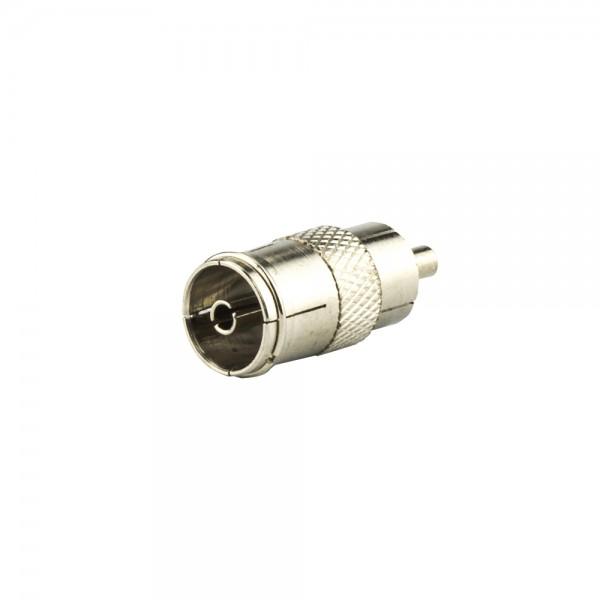 Koax-Cinch-Adapter lose