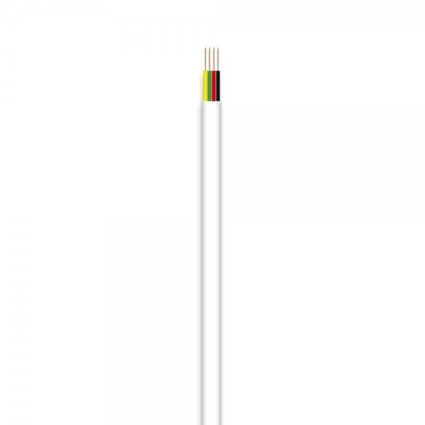 Telefon-Flachleitung, 4adrig, 100m