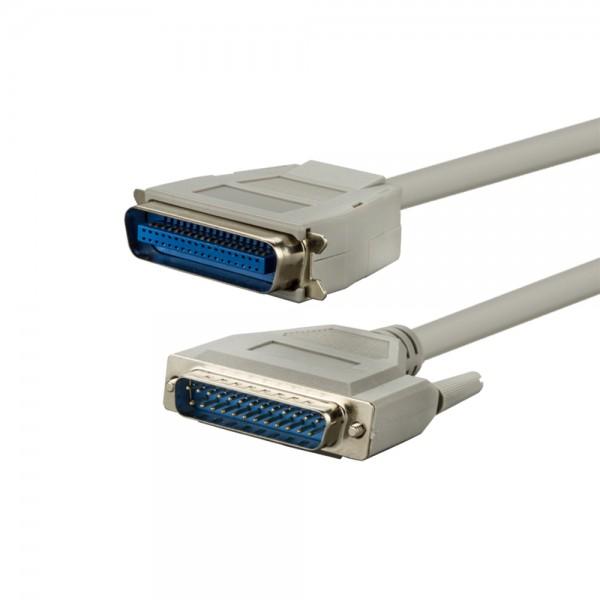 Drucker-Anschlusskabel, parallel, 2,0m