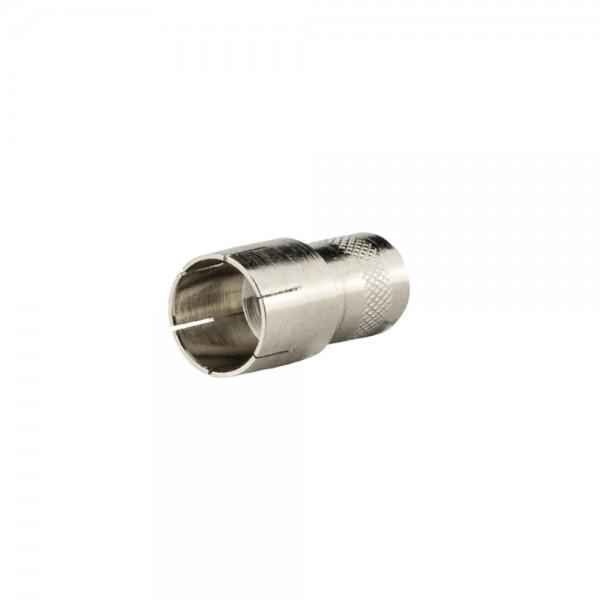 F-Stecker, steckbar, Außenmantel 7,0mm lose