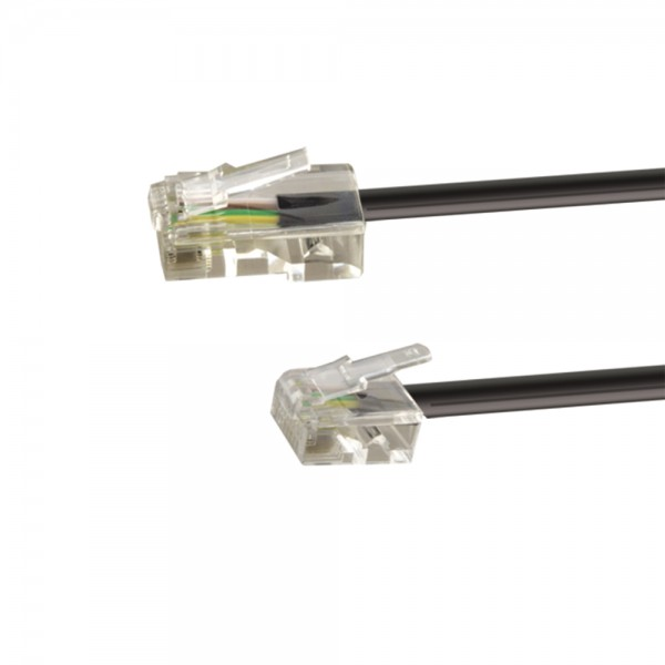 ISDN-Anschlusskabel 6,0m lose