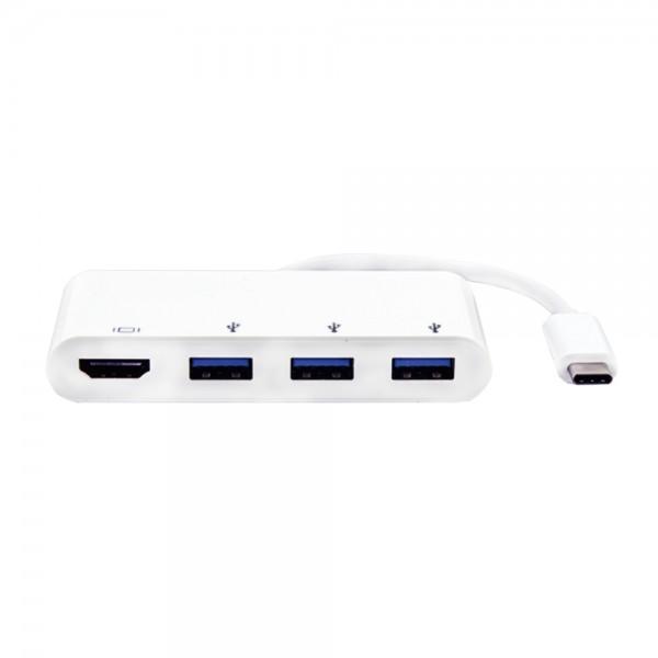 USB-C Hub, 3fach